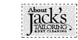About Jack's Tailoring & Dry Cleaning